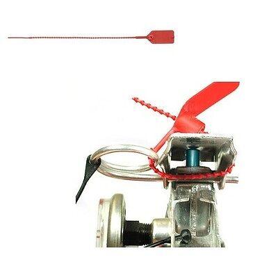 Lot Of 40 Fire Extinguisher Tamper Safety Seals 14lb Break Point 5 12 Length
