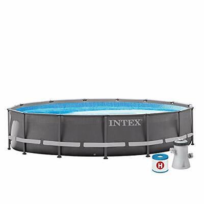 Intex 26702NP Piscina desmontable redonda con depuradora 305 x 76 cm