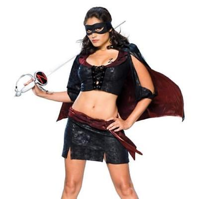 Secret Wishes Sassy Lady Zoro Zorro Pirate / Bandit Costume #888654 - Lady Zoro