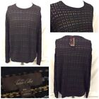 Tasso Elba Black Sweaters for Men