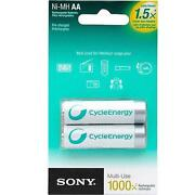 Sony Rechargeable Batteries AA