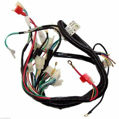 Full electrics wiring loom for 150200250300cc atomik motoworks full electrics wiring loom for 150200250300cc atomik motoworks atv quad asfbconference2016 Gallery