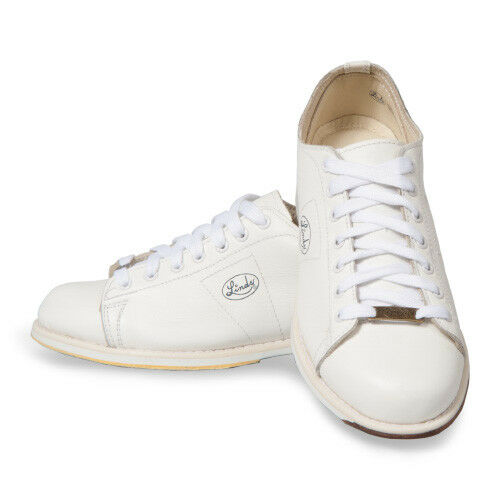 Linds Classic White Right Handed Mens Bowling Shoes