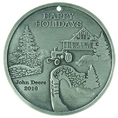 John Deere 2016 JD Pewter Holiday Ornament-LP67231
