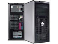 ULTRA FAST DELL DESKTOP GAMING OFFICE PC AMD KIDS STUDENTS KODI WIRELESS WINDOWS OPTION 2