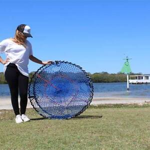 CRAB POT C960 - EXTRA HEAVY DUTY- 48PLY MESH - 12.4MM GAL RINGS Montville Maroochydore Area Preview