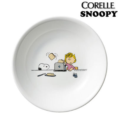 [SNOOPY PEANUTS x CORELLE]  deep round plate dish 170 mm X 20 mm / The home