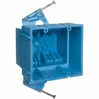 Carlon Bh235a Switchoutlet Box New Work 2 Gang 3-78-inch By 4-18-inch