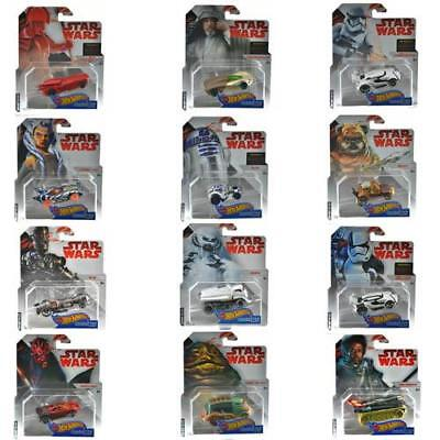 Disney Hot Wheels Star Wars Character Vehicle