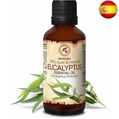 Aceite Esencial de Eucalipto 50ml - Eucalyptus Globulus - 100% Puro y...
