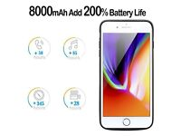 NEW Battery Case 8000MAH iPhone 7 Plus 8 Plus