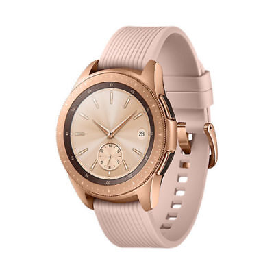 [IN Handle] SAMSUNG Galaxy Smart Watch SM-R810 Wi-Fi Bluetooth 42mm - Rose Gold