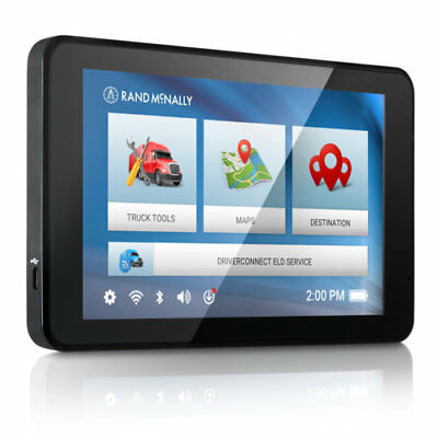 Rand McNally TND 740 7 Inch Truck Specific Routing GPS Navigation System
