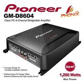 Pioneer 4 Channel Amp