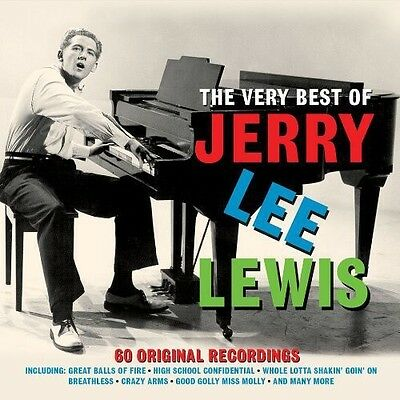 Jerry Lee Lewis   Very Best Of  New Cd  Uk   Import
