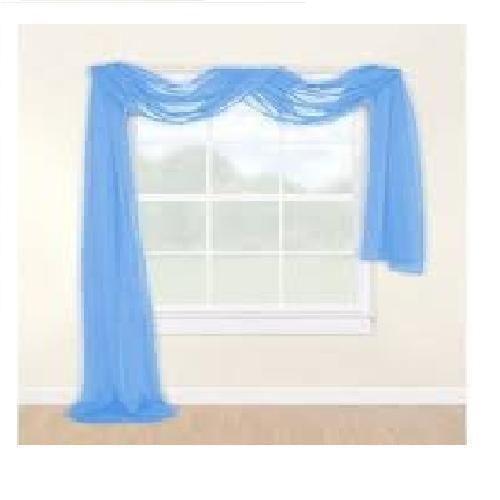 Blue Sheer Curtains Ebay