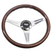 Grant Wood Steering Wheel