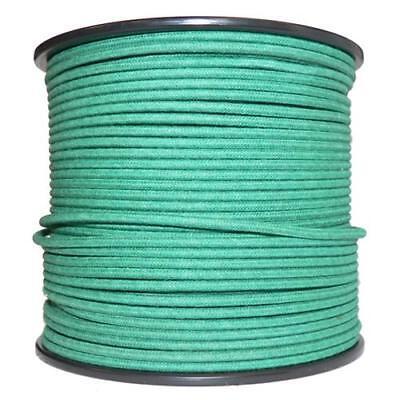 1M Algodón Trenzado Eléctrico Del Automóvil Cable 18 Calibre Verde