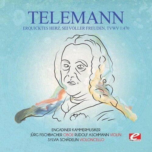 Telemann - Erquicktes Herz Sei Voller Freuden TVWV 1:470 [New CD] Manufactured O