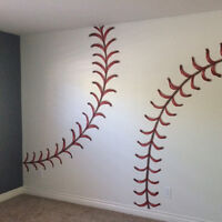Need someone who can paint a baseball...