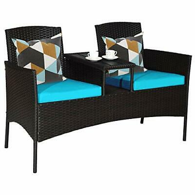 outdoor sofa seating patio love seat wicker