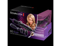 Remington AS7055 Big Style Air Rollers, 800 W - Black (complete Hair Roller set)