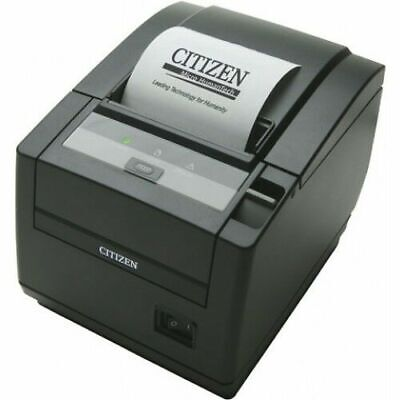 Citizen Ct-s601 Ct-s601iis3etubkp Thermal Pos Printer Top Exit Ethernet Black