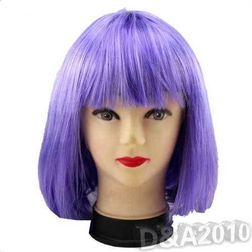 Purple Bob Wig Ebay