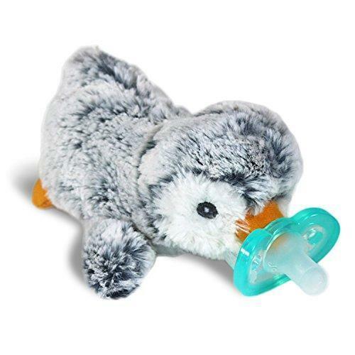 RaZbaby RaZbuddy JollyPop Pacifier Holder w/ Removable Baby Pacifier - 0m+ - BPA