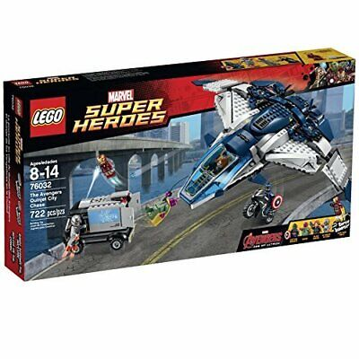 Damaged Packaging LEGO Superheroes The Quinjet City Chase 76032