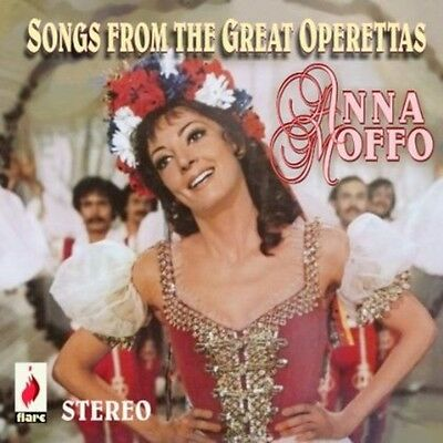 Anna Moffo - Songs from the Great Operettas [New (Great Songs 2013)