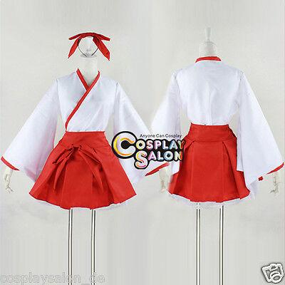 Anime Kikyou Inuyasha Cosplay Kleidung Maid Fancy Girls Kostüm Kleid Dress Damen