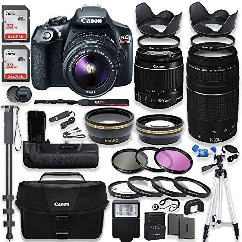 Canon EOS Rebel T6 DSLR Camera Wi-Fi Pro KIT