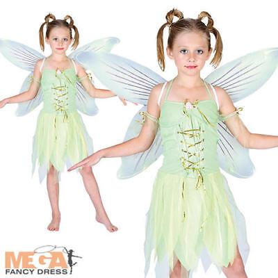 Neverland Fairy Girls Fancy Dress Peter Pan Kids Fairytale Book Week Costume  (Peter Pan Costume For Girls)
