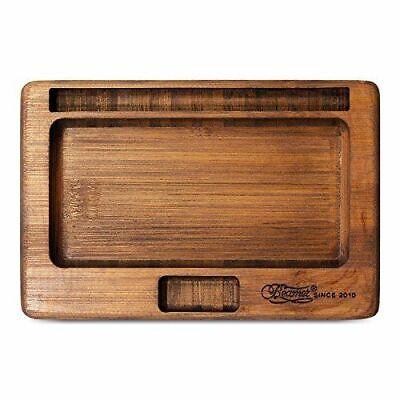 Bamboo Paper (Beamer Smoke JUJU Bamboo Rolling Tray - 1 TRAY - Premium Natural No)