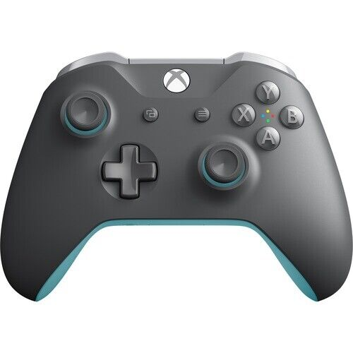 Xbox Wireless Controller Grey And Blue - Wireless - Bluetooth - Xbox One - PC