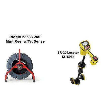 Ridgid 200 Color Mini Reel 63633 Ridigid Sr-20 Utility Locator 21893