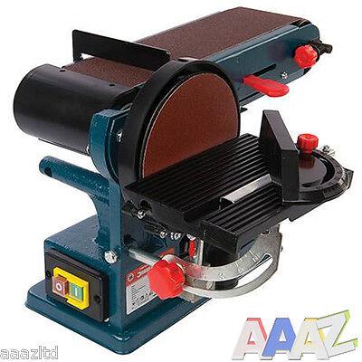 350W Bench Belt & Disc Sander 390mm Sander Sanding with 3 Year Warranty