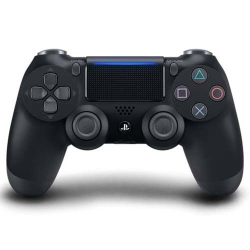 Sony DualShock 4 Wireless Controller (Jet Black, 2016 Version)
