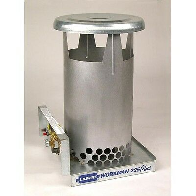 Lb White Workman 225 Plus Heater 45000 - 225000 Btuh Lp