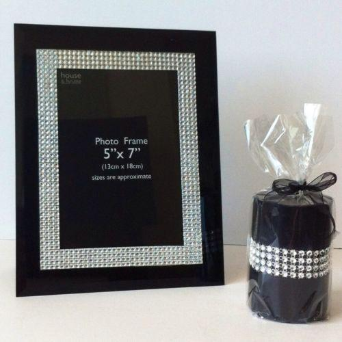 Diamante Photo Frame | eBay