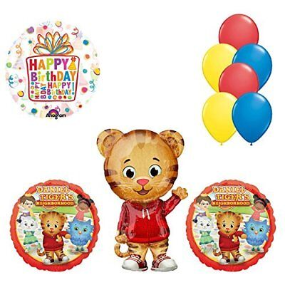 rhood Birthday Party Supplies and Balloon Decorations (Daniel Tiger Birthday Party Supplies)