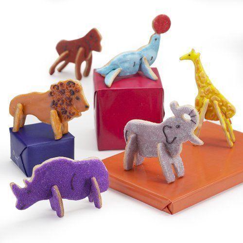 3D Cookie Cutter Set ~ CASE LOT 24 SETS ~ Big Top Circus Shape Create Edible Art