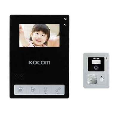 "NEW KOCOM KCV-434 Black 4.3"" TFT LCD Color Video Phone KC-C60 Door Camera Touch"