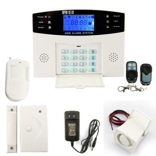 Wired Home Security System Ebay