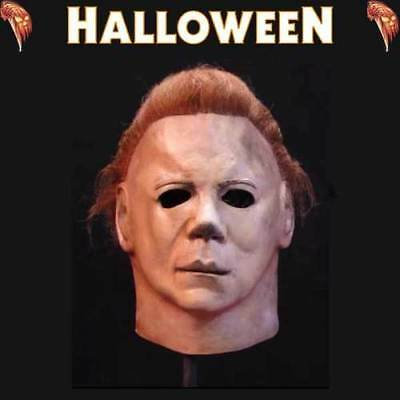 Michael Myers Halloween II Officially Licensed Deluxe Mask Trick or Treat Studio - Halloween Trick Or Treat