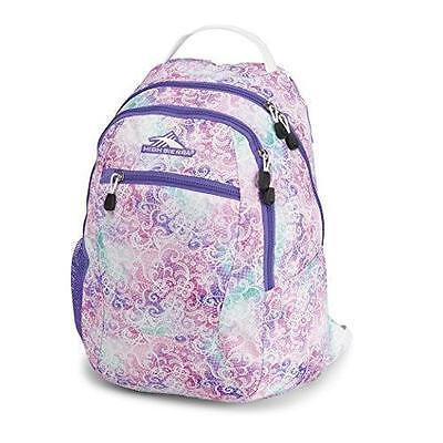 High Sierra Curve Large Backpack Student Daypack School College Sports Travel