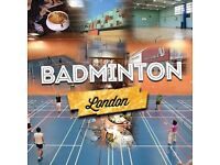 Badminton Social - No Partner Needed - All Levels Welcome - Edgware Road - Maida Vale - Marble Arch