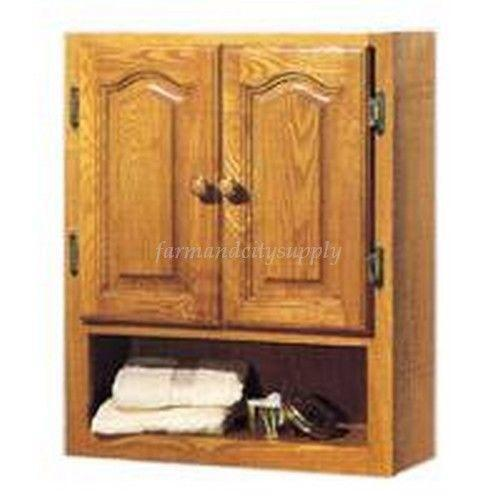 wood bathroom cabinet ebay