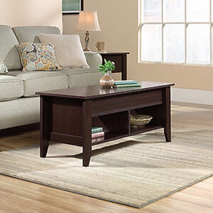 Lift Top Coffee Table - Jamocha Wood finish. (Scratch & Dent)